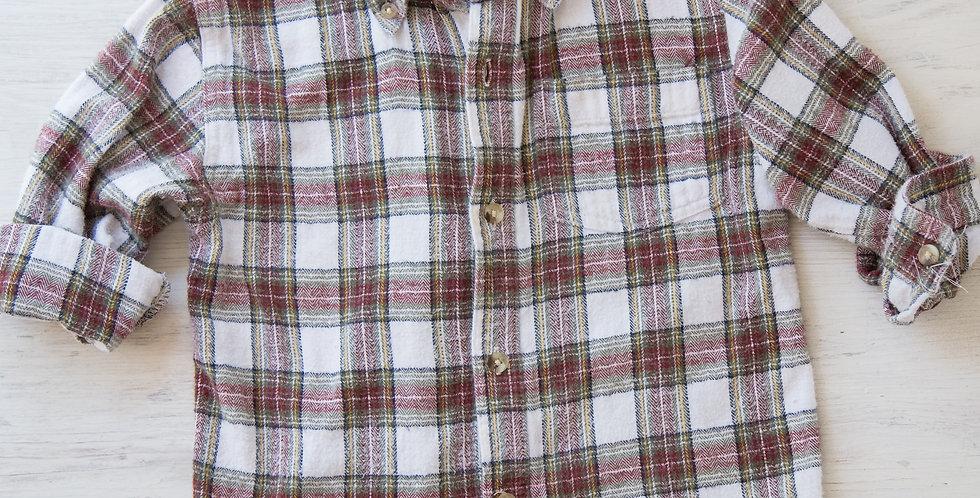 vintage plaid shirt | 4T