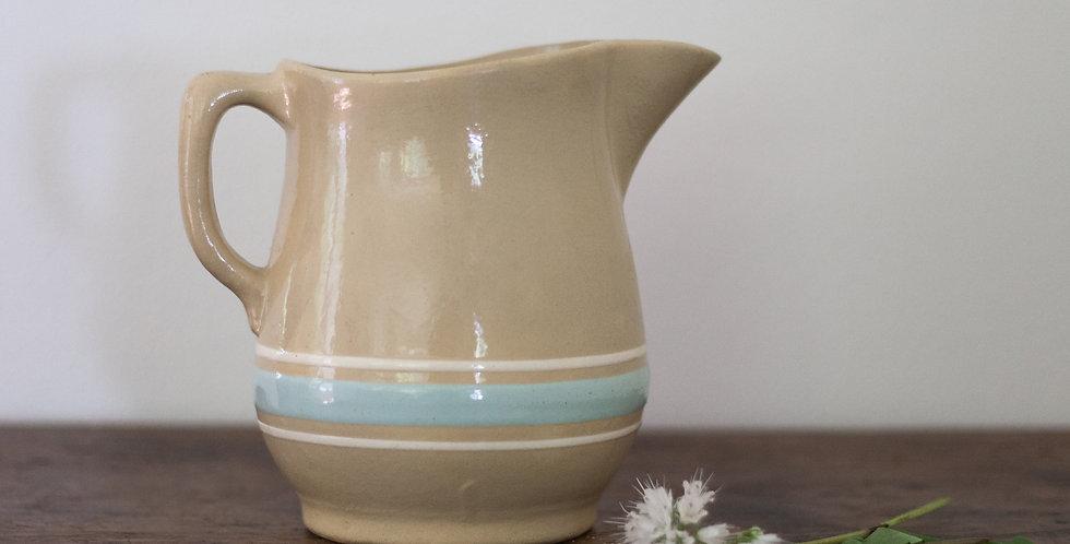 yellow ware pitcher