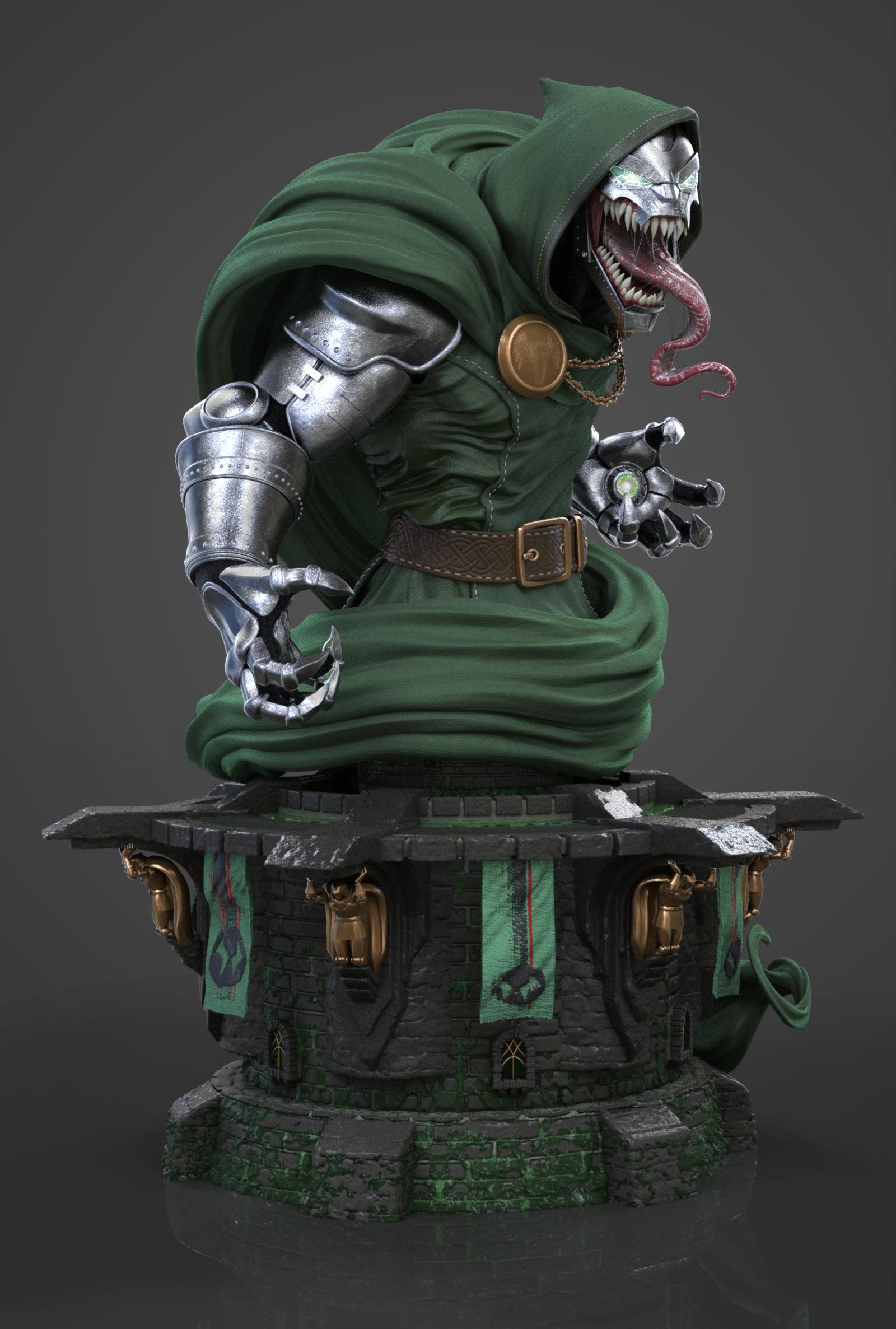 Keyshot Venom Doom v1