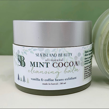 Mint Cocoa Cleansing Balm