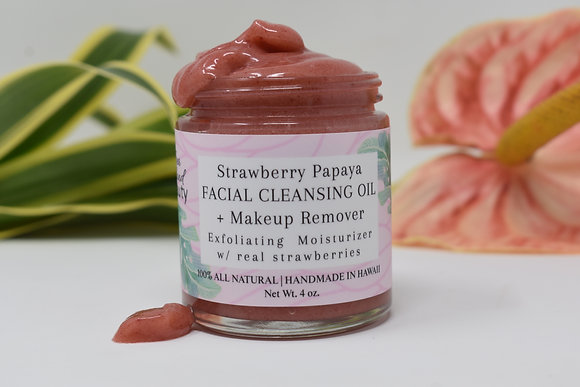 Strawberry Papaya Cleansing Balm