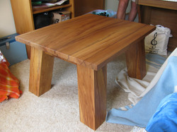 Solid Rimu coffee Table.