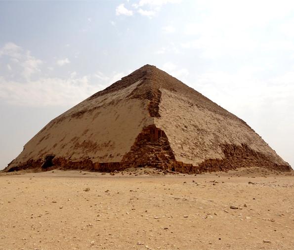 """Bent"" Pyramid built for Pharaoh Sneferu"