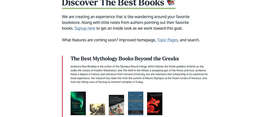 Shepherd.com: Helping Readers Discover The Best Books