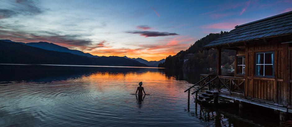 Hotelfotografie für das Romantikhotel Seefischer in Döbriach am Millstättersee in Kärnten Österreich