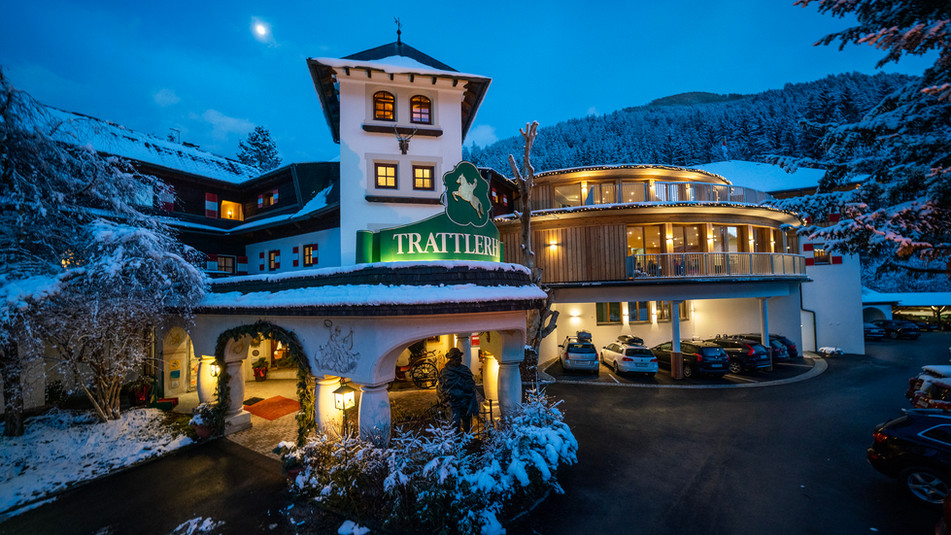 Werbefotografie für meinen Kunden Hotel Trattlerhof in Kärnten / Bad Kleinkirchheim.