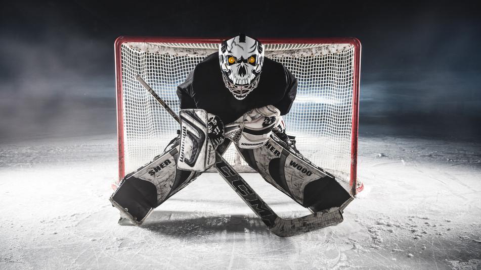 Eishockey Fotoshooting