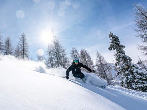 fotograf   tiefschnee   skifahren   kaernten