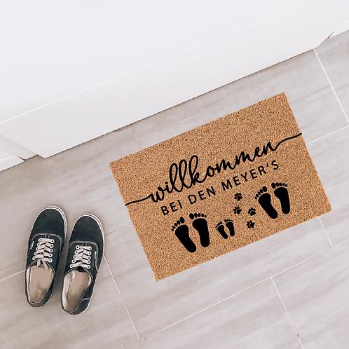 » Fußabdruck « Deko-Fußmatte