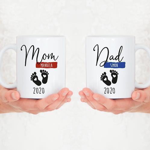 » Mom & Dad « Tasse