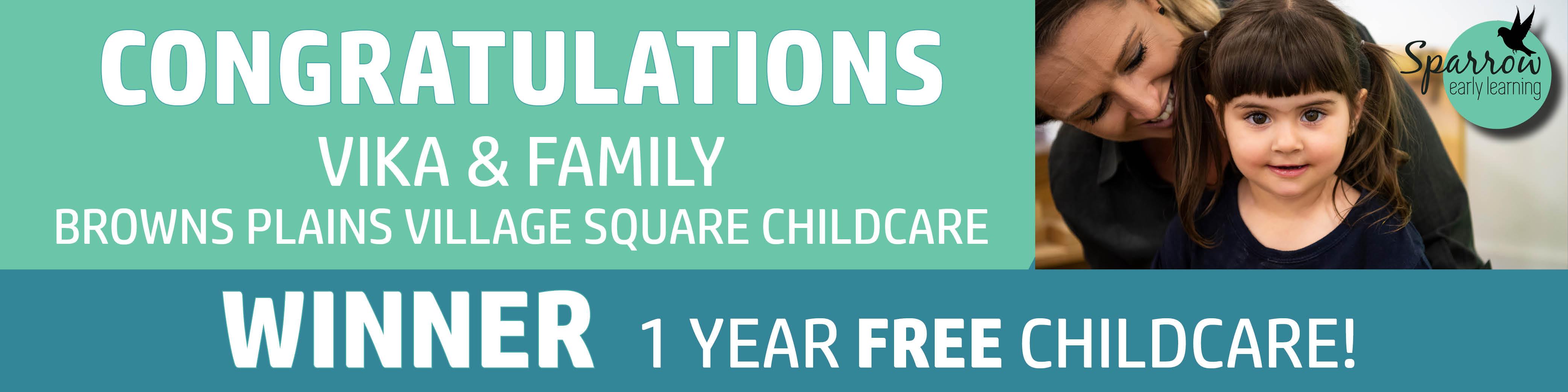 WINNER 1 Year Free Childcare - Website H