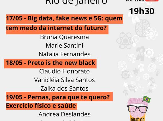 Pint of Science Rio de Janeiro