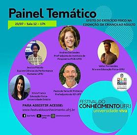Festival do Conhecimento UFRJ (23/07)