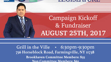Campaign Kickoff & Fundraiser