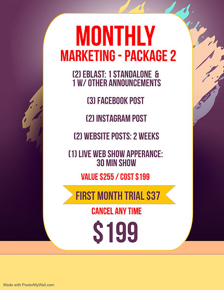 Pk 2 - Website Monthly Mkting for EA - M