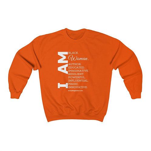 I Am (Woman) - Unisex Heavy Blend Sweatshirt