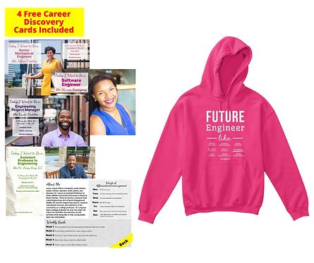 Future Engineer: Youth Hoodie w/ Free Career Cards