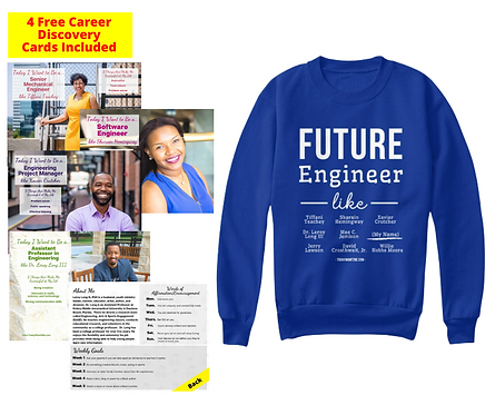 Future Engineer: Youth Sweatshirt w/ Free Career Cards