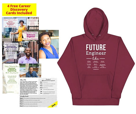 Future Engineer: Unisex Adult Sweatshirt w/ Free Career Cards