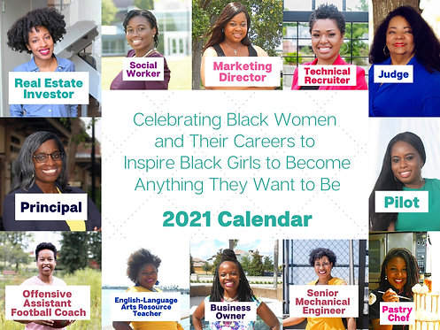 2021 Black Women Calendar - Girls
