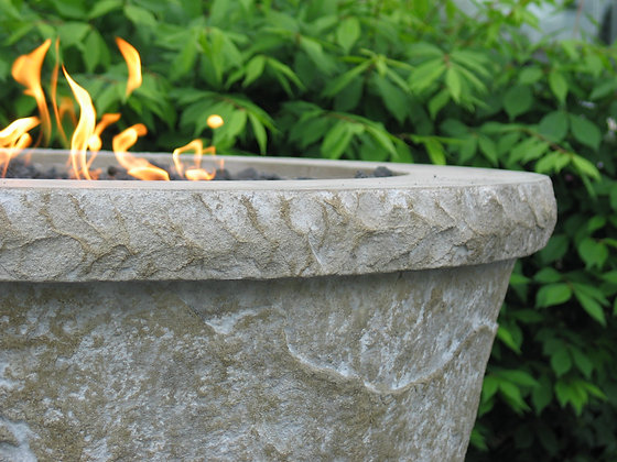 Round Stone: Fire Bowl  (Complete)