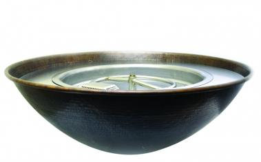 "Tempe: Copper Bowl - 31"" (Topper)"