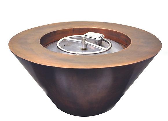 Mesa: Copper Fire Bowl (Complete Bowl)