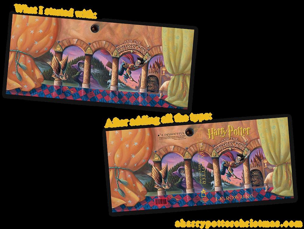 Tutorial Miniature Harry Potter Books