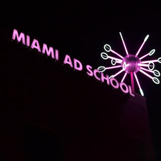 Miami Ad School Signage