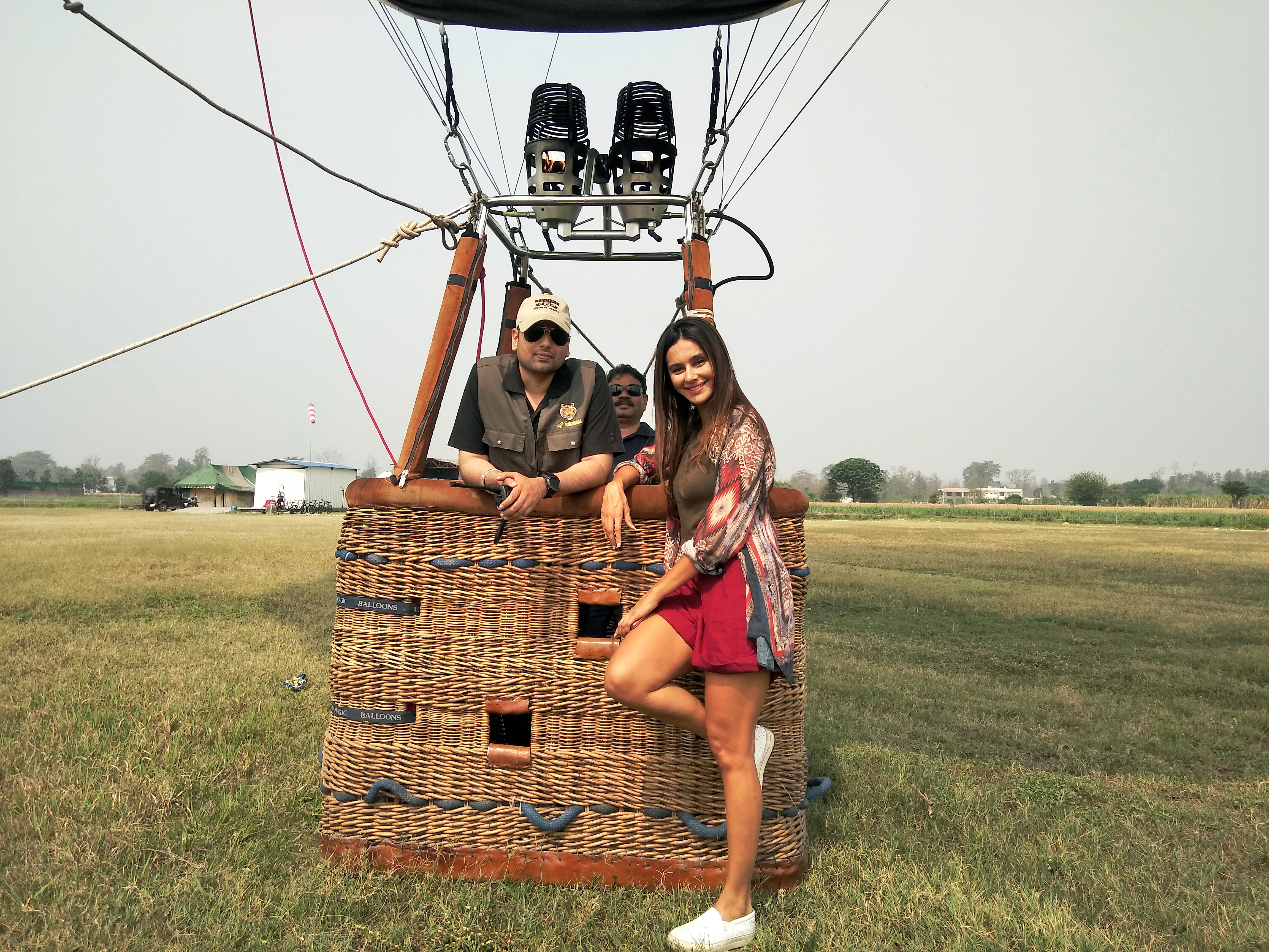 Shibani Dandekar @ Air Safari