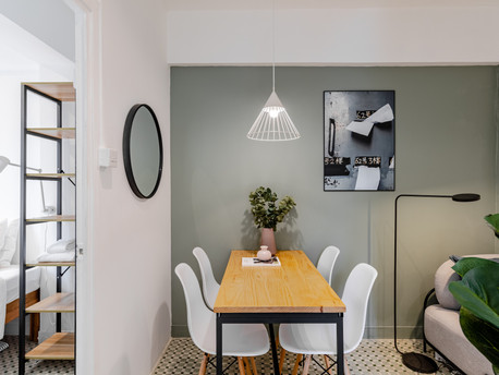 From two to three-bedroom transformation