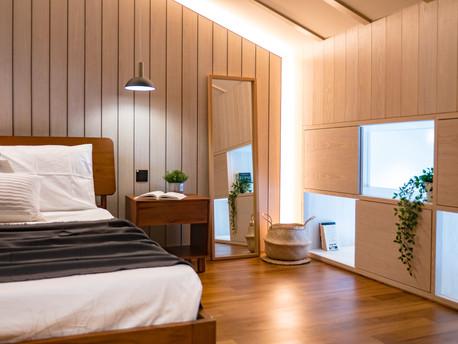 Calm & serene walk-up home renovation