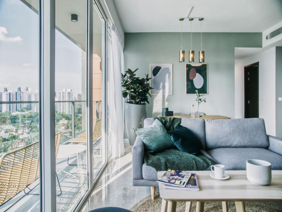 Light & breezy residential apartment