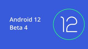 Android 12'nin 4. Beta Sürümü Tanıtıldı