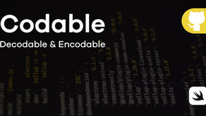 Swift Codable: Encodable-Decodable