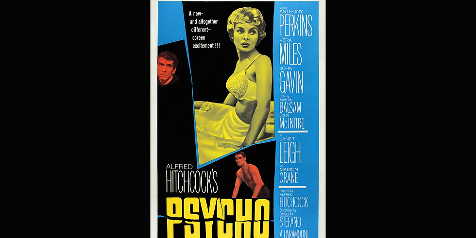 """Alfred Hitchcock's  1960 Classic - """"PSYCHO"""" at Angel Theater"""
