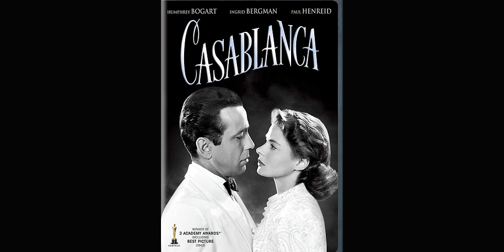 "Classic Movie Nights at ""The Angel"" - ""Casablanca"""