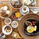 Pequeno almoço biológico e cheio de saúd