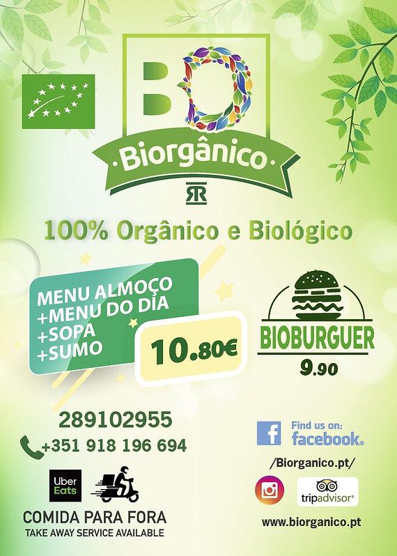 Menu Biorganico