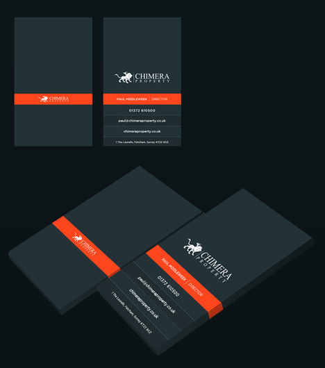 Chimera business card