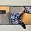 Thumbnail: Vide poche mural 3 poches horizontal en tissu, 60x30 cm, pièce unique
