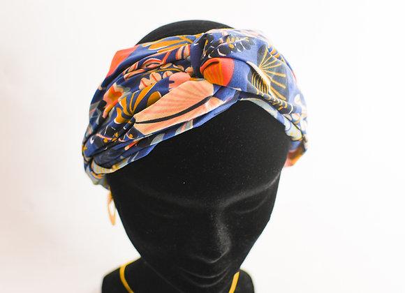 Bandeau / turban aux motifs tendances, élastiqué, taille unique