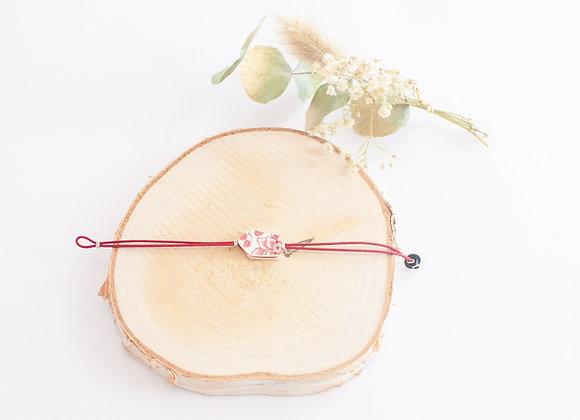 """Bracelets """"Porcelaine"""", pièces uniques, 15cm"""