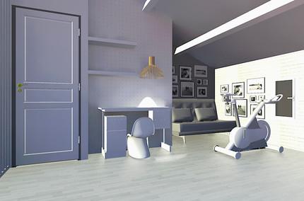 Visualisation 3D chambre