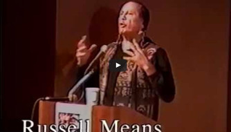 Russell Means LIVE at United Confederation of Taino People First Anniversary Areito