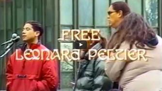 FREE Leonard Leonard Peltier NOW!