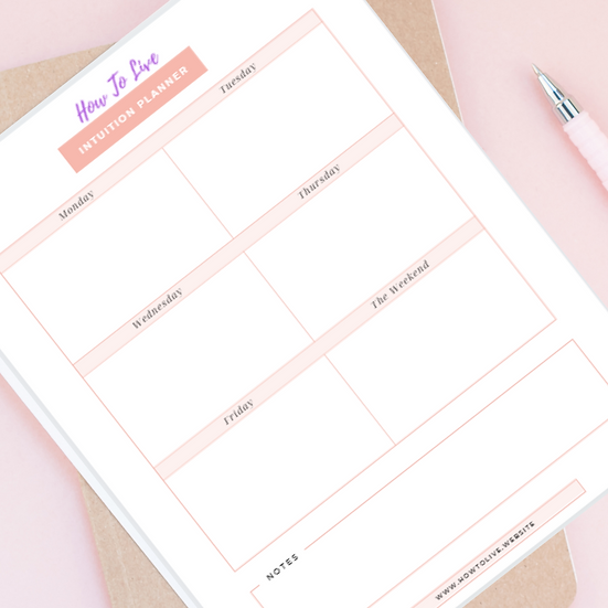 Intuition Printable Planner