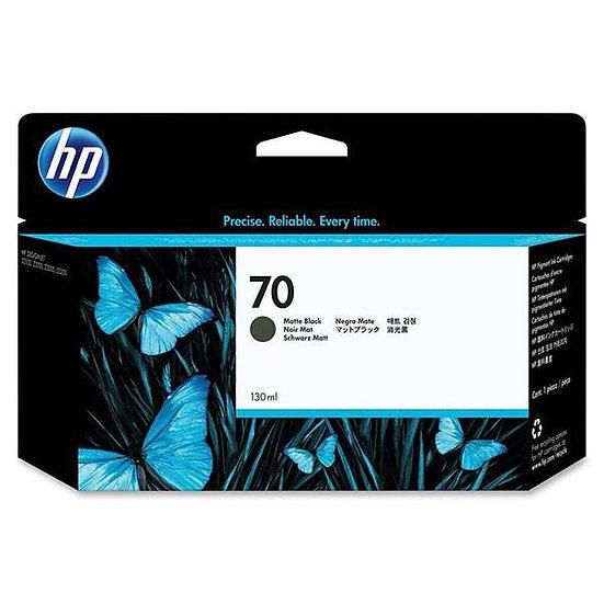 HP 70 Matte Black 130 ml Ink Cartridge For Z2100