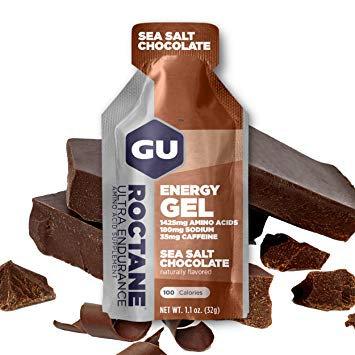 GEL GU ROCTANE- SEA SALT CHOCOLATE