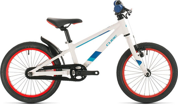 CUBE KID 160 white'n'blue 2020 16""
